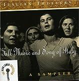 echange, troc Alan Lomax - Italian Treasury: Folk Music & Song of Italy
