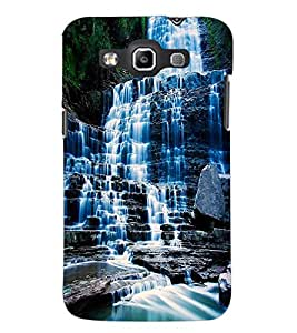PrintDhaba WaterFall D-1129 Back Case Cover for SAMSUNG GALAXY QUATTRO (Multi-Coloured)