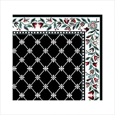 Home Dynamix Premium 7015-450 5-Feet 2-Inch by 7-Feet 4-Inch Area Rug, Black