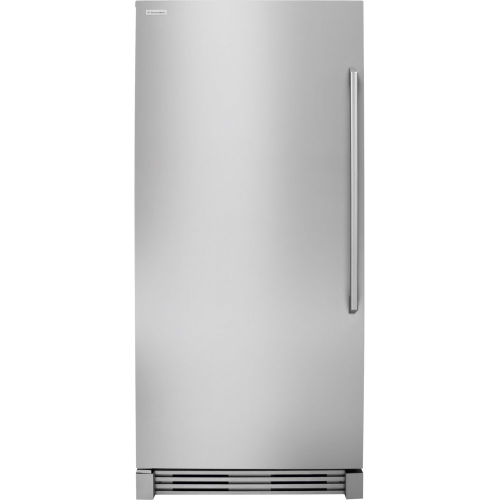 "Electrolux EI32AF80QS 32"" All Freezer with 18.7 cu. ft. Capacity, Full-Width Cantilever Glass Shelves, and Performance Lighting, in Stainless Steel"