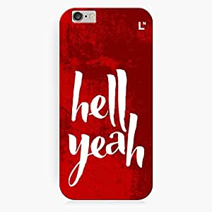 LetterNote Hell Yeah Back Cover for iPhone 6