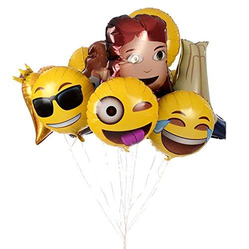 Emoji-Universe-Jumbo-Foil-Emoji-Helium-Balloons-12-Pack