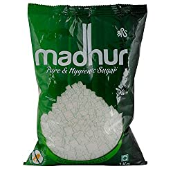 Madhur Sugar - Pure and Hygienic, 1Kg Bag