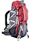 Ultrasport Trekkingrucksack inkl. Regenhülle, 65+10 Liter