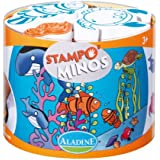Aladine - 85103 - Loisir Créatif - Stampominos - Mer