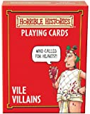 Cheatwell Games Horrible Histories Card Game Vile Villains