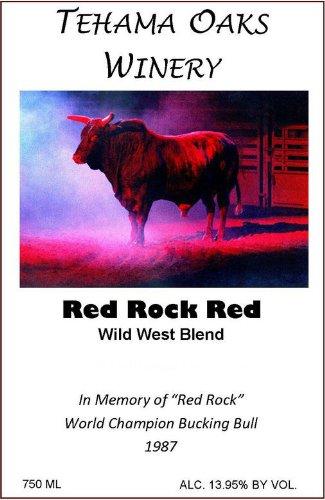 2011 Tehama Oaks Red Rock Red - Wild West Blend 750 Ml
