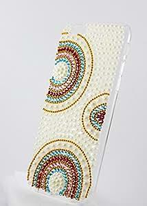 Kiintymys Handmade Designer Bling 3D Bridal Rings Full Acrylic Case for Xiaomi MI MAX