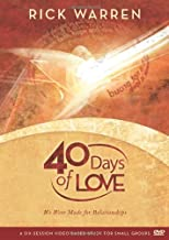 40 Days of Love DVD Study Guide: We Were Made for Relationships (Undefined)