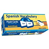 Quick Study-Spanish Vocabulary Flash Cards-1000 cards by Inc. BarCharts