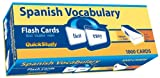 Quick Study-Spanish Vocabulary Flash Cards-1000 cards (Quickstudy (Flash Cards))