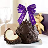 Dark Chocolate Delight Jumbo Caramel Apple Gift