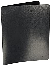 ACCO PRESSTEX Punchless Grip Binder, 75 Sheet Capacity, Letter Size, Black, 2 Binders per Pack (A7042221A)