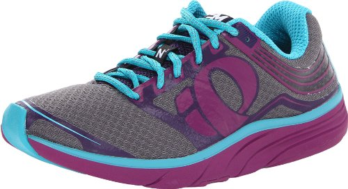 Pearl Izumi Women's EM Road N2 Running Shoe,Orchid/BlackBerry,7 B US