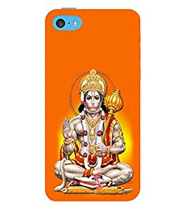 ifasho Designer Phone Back Case Cover Apple iPhone 5c ( I love Delhi Blue Wood Look )