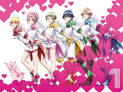 美男高校地球防衛部LOVE!LOVE! 1 [Blu-ray]