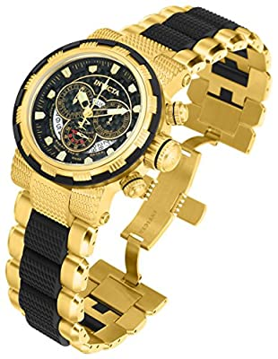 Invicta Reserve Chronograph White Dial Two-tone Mens Watch 80302