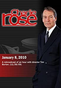 Charlie Rose - Tim Burton (January 8, 2010)