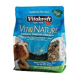 Vitakraft VitaNature Guinea Pig Food - Natural Timothy Formula, 2.75 lb.