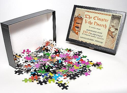 Photo Jigsaw Puzzle Of The Cloister And The Hearth By Charles Reade, Illustrated Wi