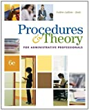 img - for Procedures & Theory for Administrative Professionals (with CD-ROM) book / textbook / text book