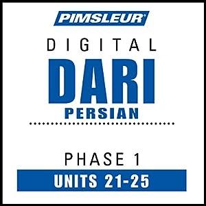 Dari Persian Phase 1, Unit 21-25 Audiobook