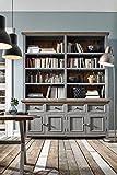 Sideboard-Kommode-Anrichte-Highboard-TV-Board-Flurkommode-Schlafzimmerkommode-Hochkommode-grau-braun-antik-vintage-massiv-Kiefer-recycelt