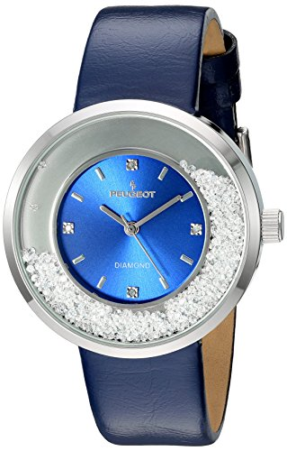 peugeot-womens-genuine-diamond-marker-silver-tone-floating-crystal-watch