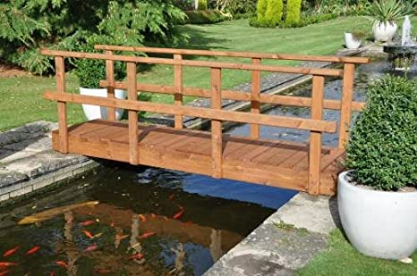 Rambler Low Rail Garden Bridge (12ft Rambler LR)