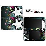 new3DSLL 【スキンシール】 New ニンテンドー 3DS LL /ST16/Retro Stars