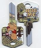 Disney: Winnie The Pooh: Hug Me (d42) House Key: KW & KW1 (Kwikset)