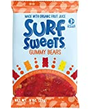 Surf Sweets Gummy Bears, 0.9-Ounce Bags (Pack of 24)