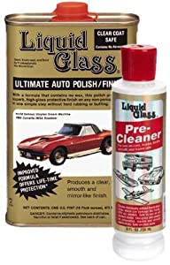 Liquid Glass Ultimate Auto Polish & Pre-Cleaner Combo by Liquid Glass