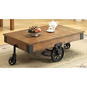 Coaster Country Style Coffee Table Kitchen Dining