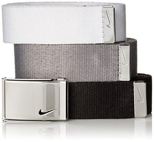 Nike Women's 3-in-1 Web Pack Belt, Black/White/Grey, One Size (Nike Bottle Opener Belt compare prices)