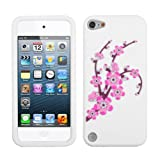 Phonetatoos (TM) for iPod touch (5th generation) Spring Flowers/White Pastel Skin Cover - Lifetime Warranty