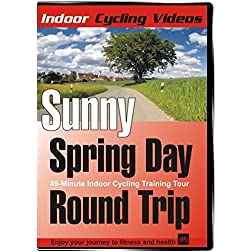 Indoor Cycling - Sunny Spring Day Round Trip