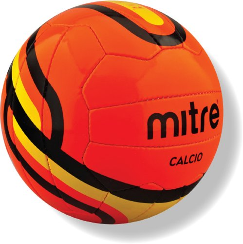 Mitre Calcio Training Football - Orange, Size 5