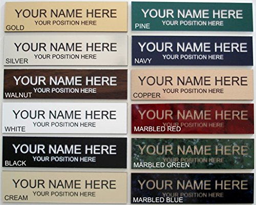 Office Desk Name Plate or Wall / Door Sign - 2