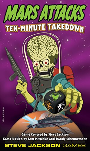 Mars Attacks Ten Minute Take Down Action Game - 1