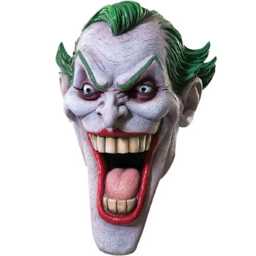 Rubie's Costume Dc Heroes and Villains Collection Joker Latex Mask at Gotham City Store