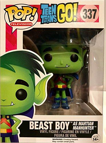 POP! Television: Teen Titans GO: Beast Boy as Martian Manhunter TRU Exclusive (Beast Boy Figure compare prices)
