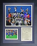 NFL New England Patriots Legends Never Die Framed Photo Collage, 2014 Super Bowl XLIX Champions Collage, 11 x 14-Inch