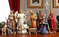 Christmas Nativity Set – Full 10 inch…