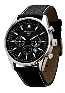Jorg Gray Non Commemorative Leather Chrono Black Dial Men's watch #JG6500-NC