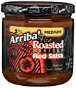 Arriba! Fire Roasted Mexican Red Salsa, Medium, 16-Ounce Jars (Pack of 3)