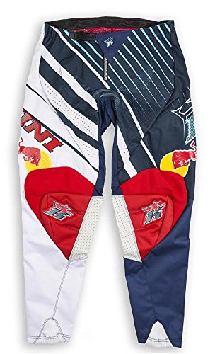 Pantaloni Offroad Bambino Kini Red Bull Vintage Red/Blue - Taglia 24