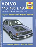 Volvo 440, 460 and 480 Owners Workshop Manual (Service & repair manuals) A. K. Legg