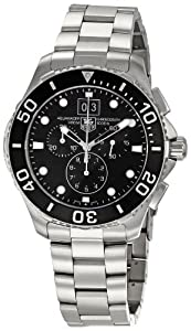 TAG Heuer Men's Aquaracer Chronograph Watch Black CAN1010.BA0821