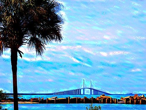 florida-art-florida-poster-sunshine-skyway-bridge-saint-petersburg-florida-27x40